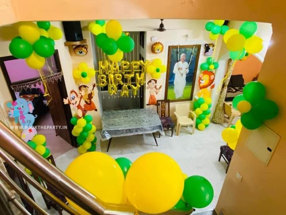 Home Decoration with Balloons