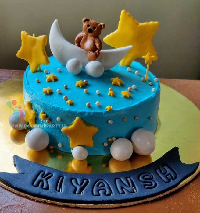 The Teddy Theme cake