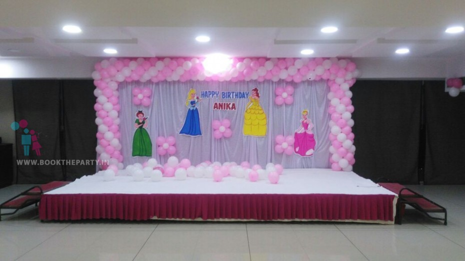 White Drapes with Princess Cut-outs