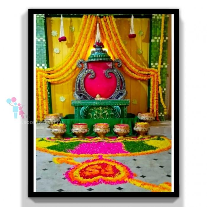 Maharaja Chair with Gangalams