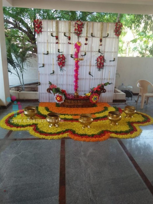 Peacock Seat Mangalasnam Set-up