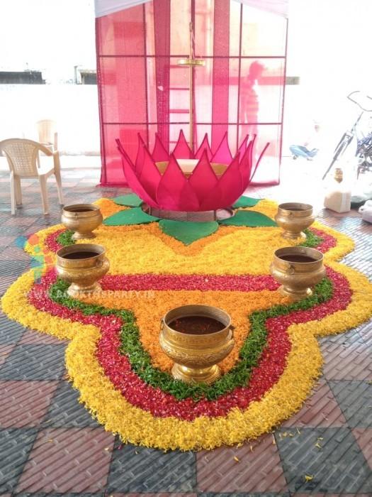 Lotus Mangalasnanam