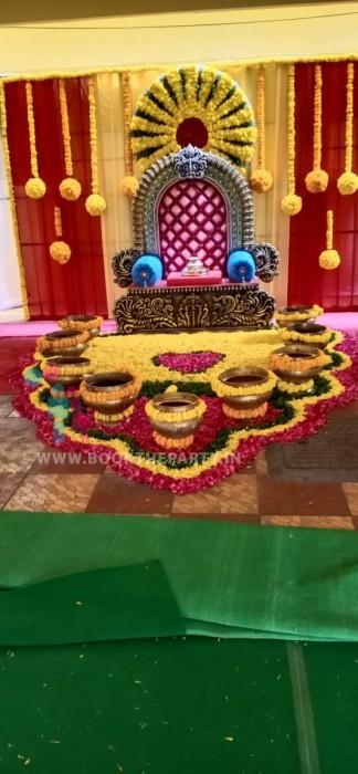Maharaja Chair Mangalasnanam