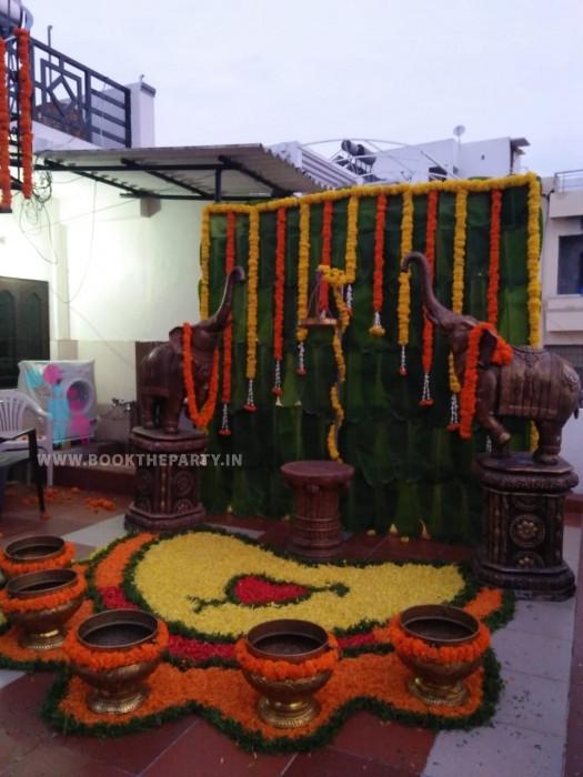 Elephant Mangalasnanam Set-up