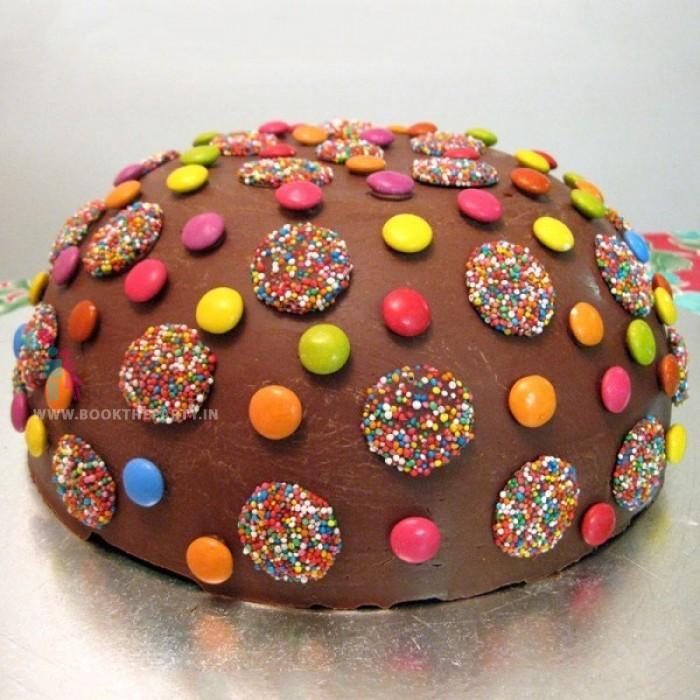 Rainbow Gems Cake