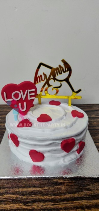 Anniversary Special Pineapple Cake