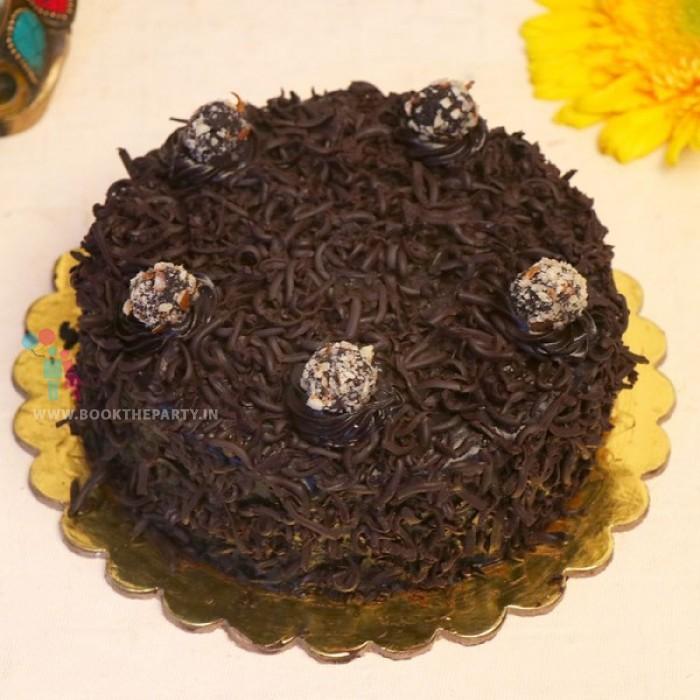 Flavoursome Chocolate Truffle Cake