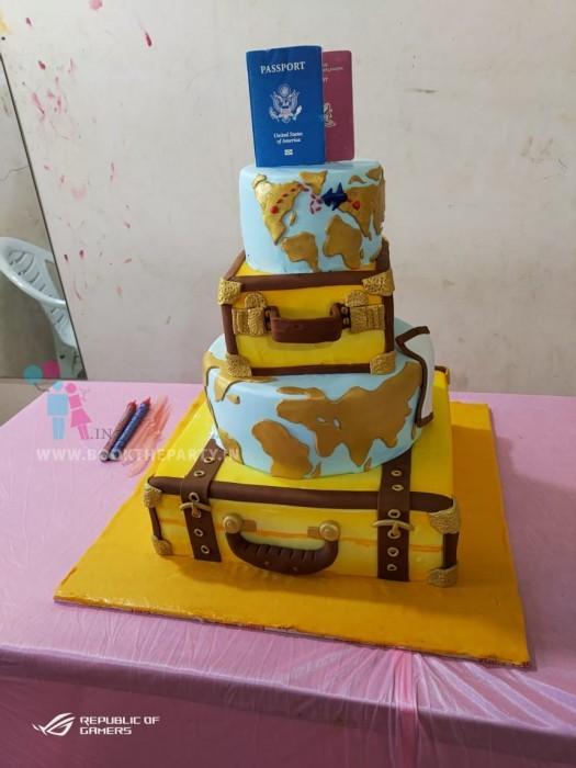 World Tour Cake