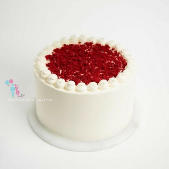 Red Velvet Cake Eggless
