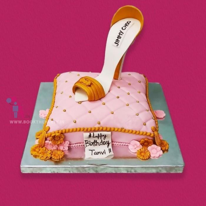 Jimmy Choo Theme Cake