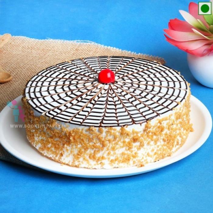 Eggless ButterScotch Cakes