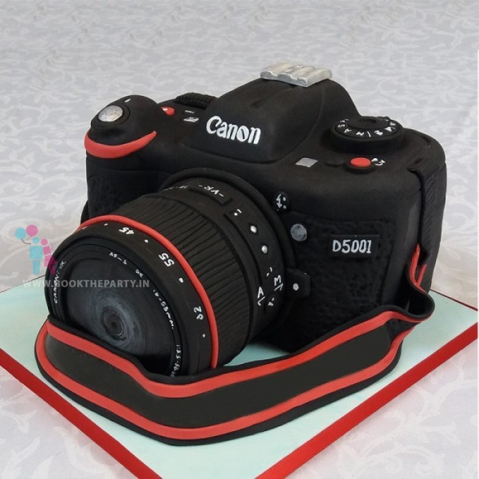Camera Theme Cake