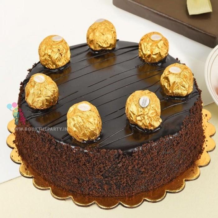 Chocolate Rocher Cake