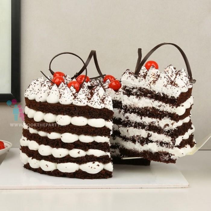 Blissful Black Velvet Cake