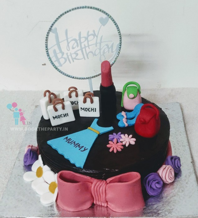 The Shopaholic cake