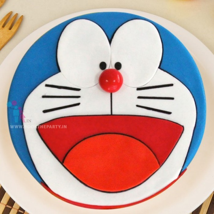 Enticing Doraemon Cake