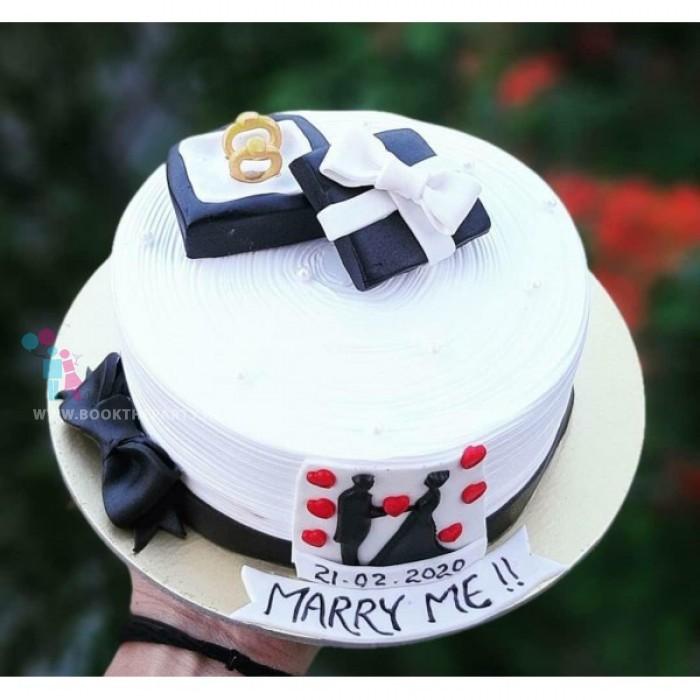 Proposal Theme Cake