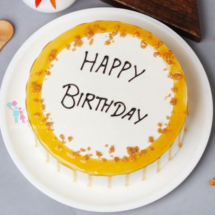 Crunch Butterscotch Cake