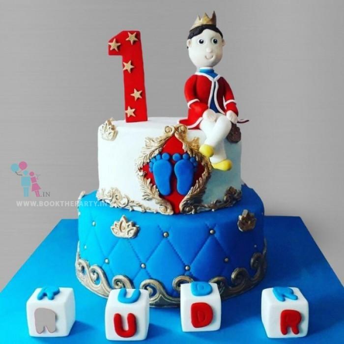 Baby Prince Charming Cake