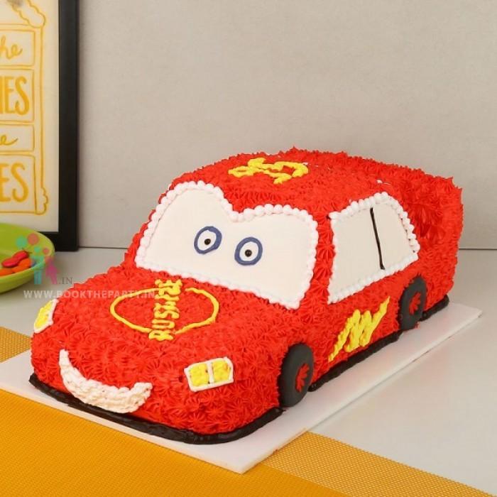 Super Car Cream Cake
