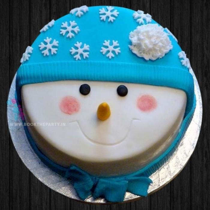 Snowy White Cake