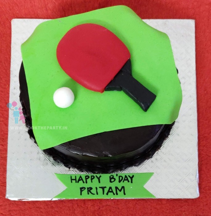 The Table Tennis Cake