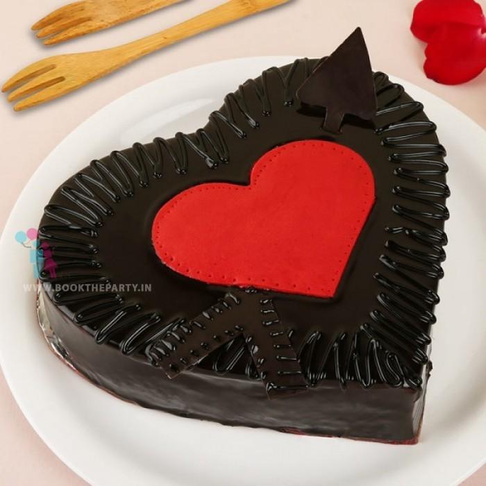 Cupids Arrow Cake