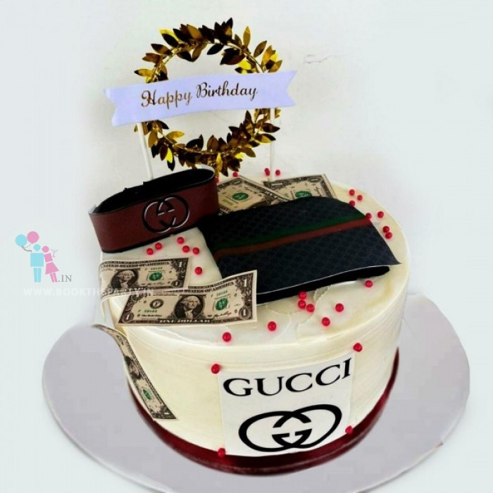 Gucci Is Life Cake