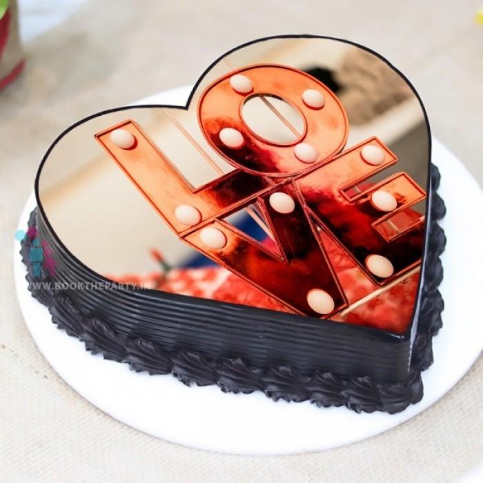 Truffle LOVE Cake