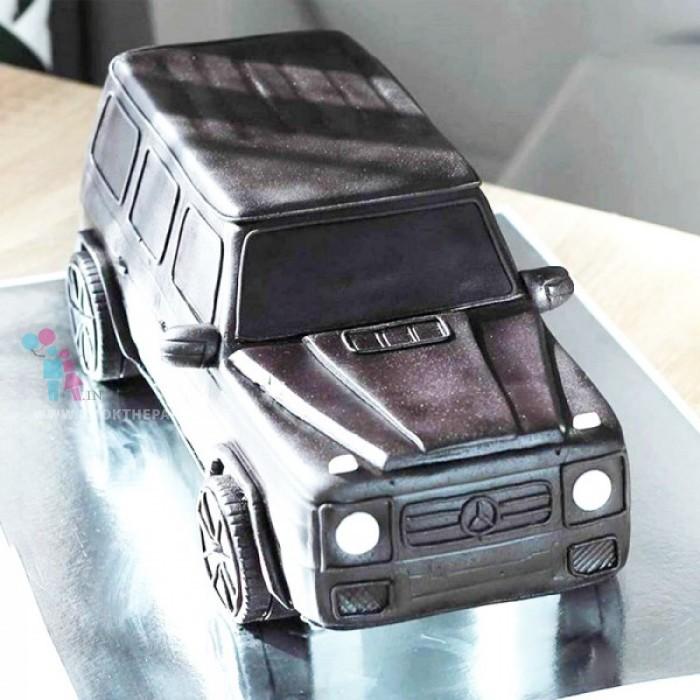SUV Car Cake