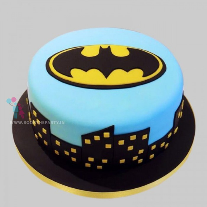 Mesmerizing Batman Cake