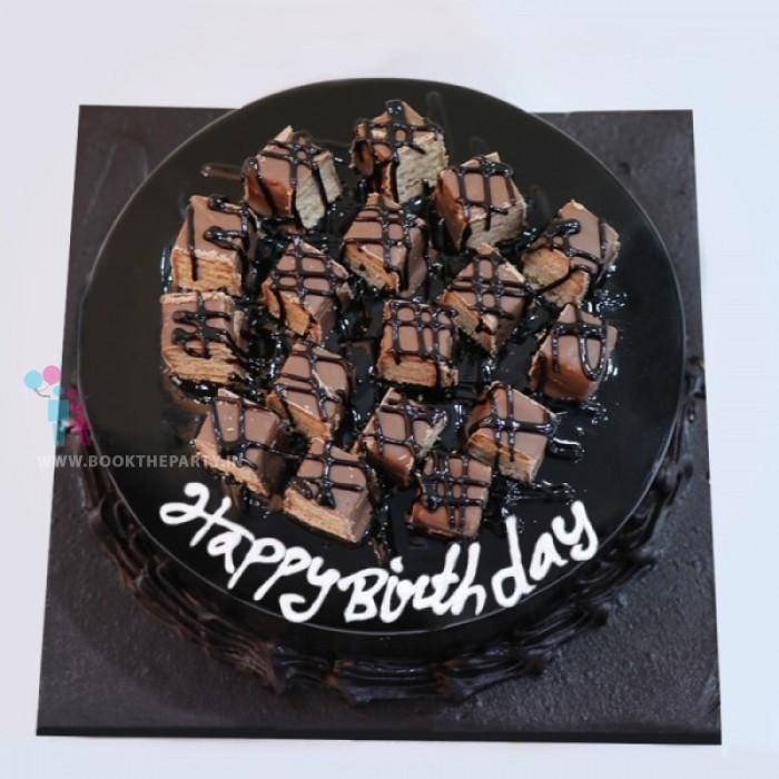 Munchy Chocolate Cake