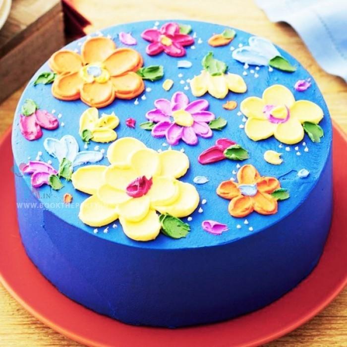 Floral Cake Fantasy