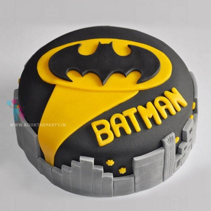 Spellbinding Batman Cake