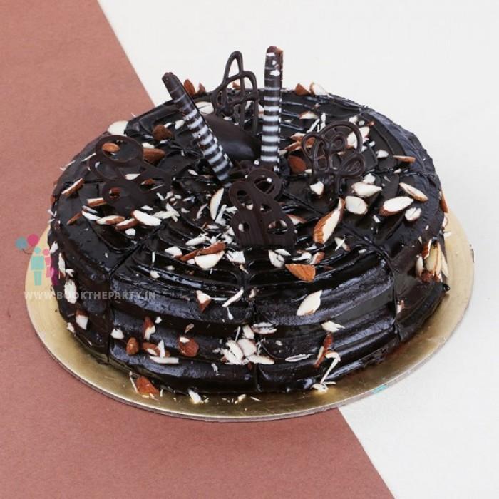 Almond Truffle Cake