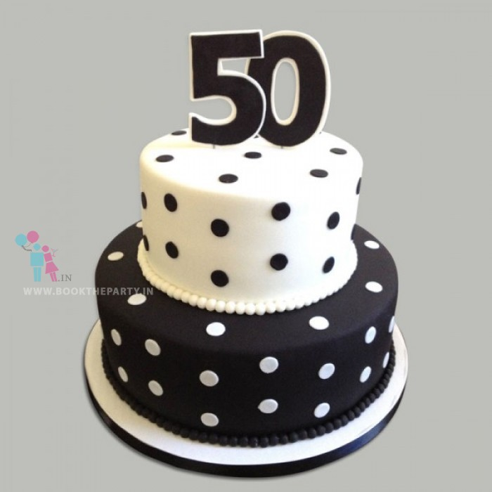 50Th Celebration Cake