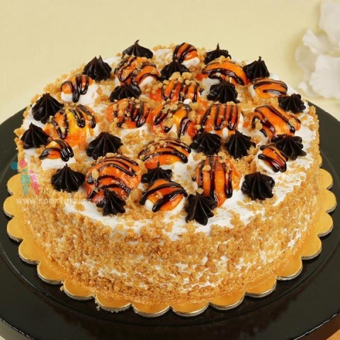 Butterscotch Fantasy Cake