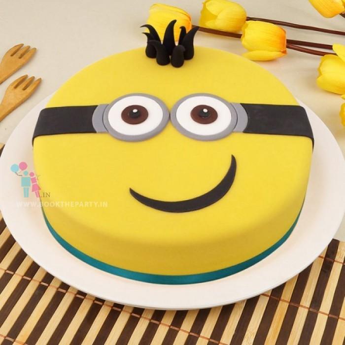 Minion Cake For Chocoholic