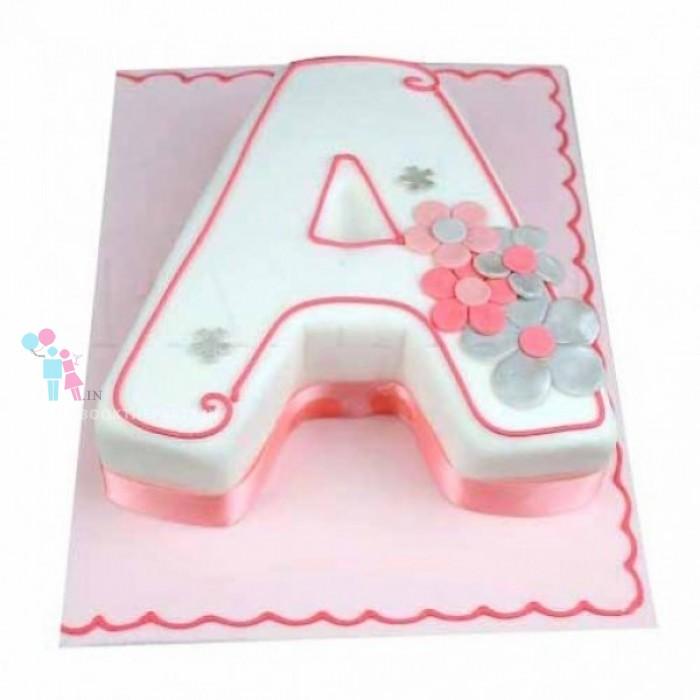 Alphabets Cake