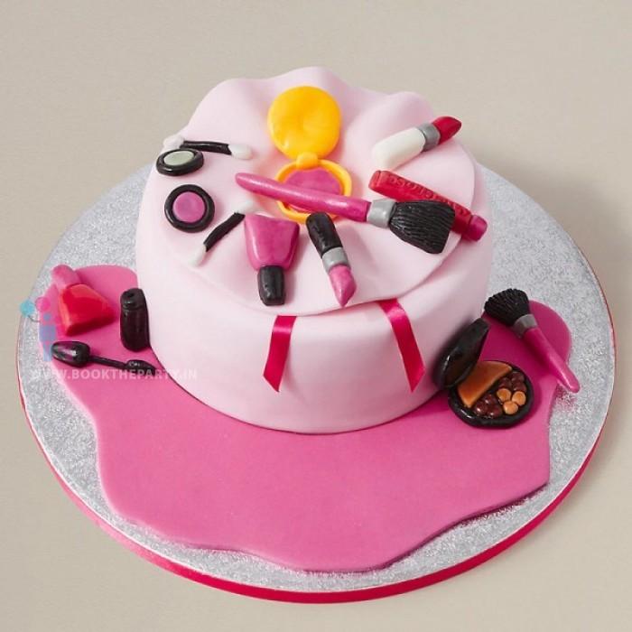 Designer Makeup Cake