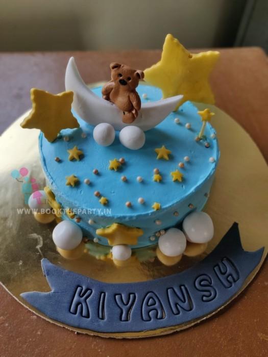 The Teddy Theme cake