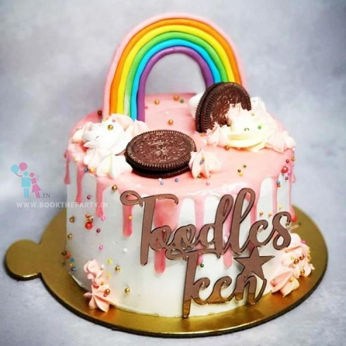 Magical Rainbow Cake