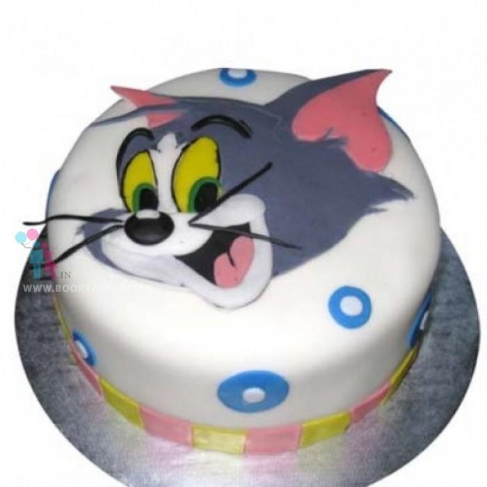 Tom Theme Cake