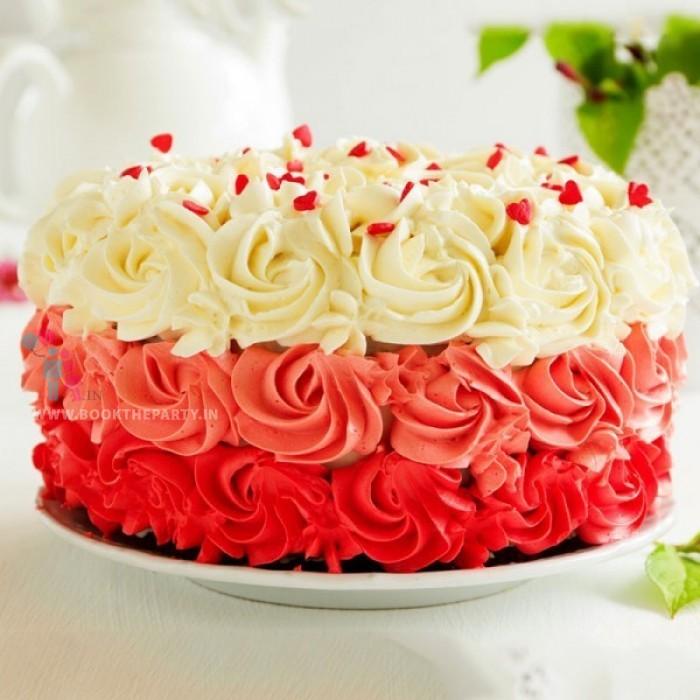 Rose Cake-- Multi-color
