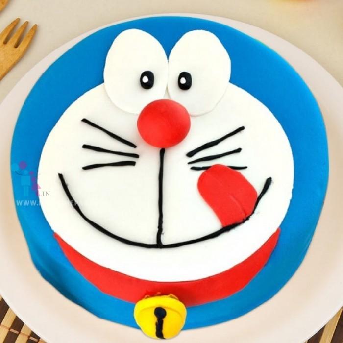 Rejoicing Doraemon Cake