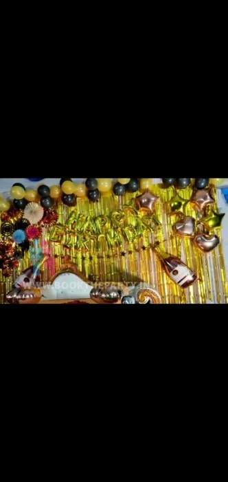 Theme Birthday Decoration