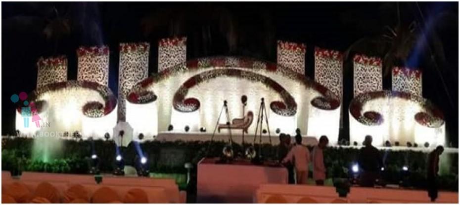 Uniquely Designed Stage