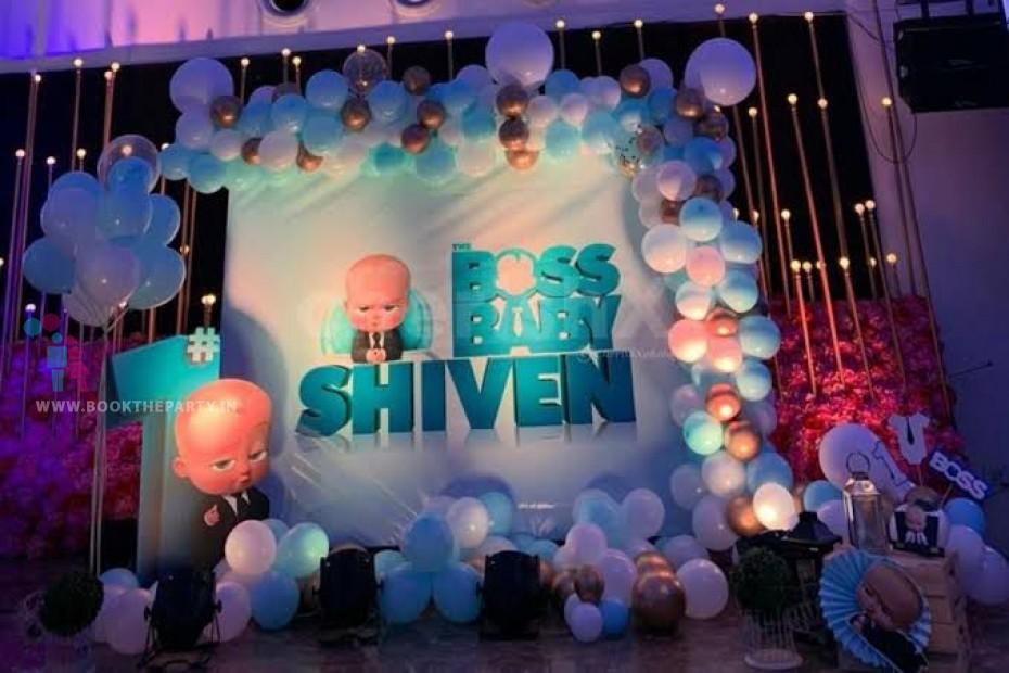 Boss Baby Theme Decor