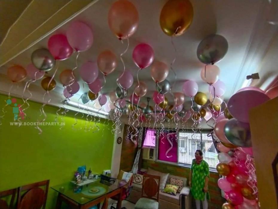 Helium Balloons Theme