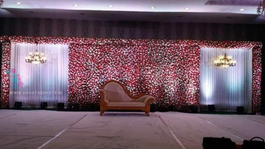 Red Roses Flower Pasting Theme
